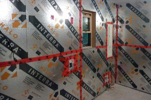 When taped, Interra provides the vapor barrier as well!