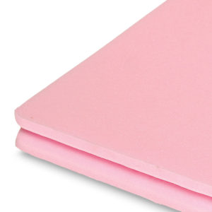 pink insulation close up product shot