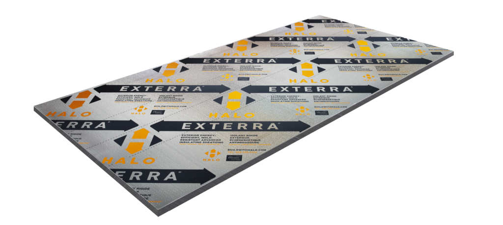 Halo exterra insulation product shot