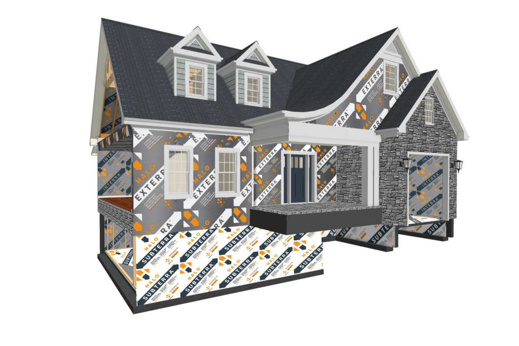 Halo House 2020 - GPS Insulation Applications