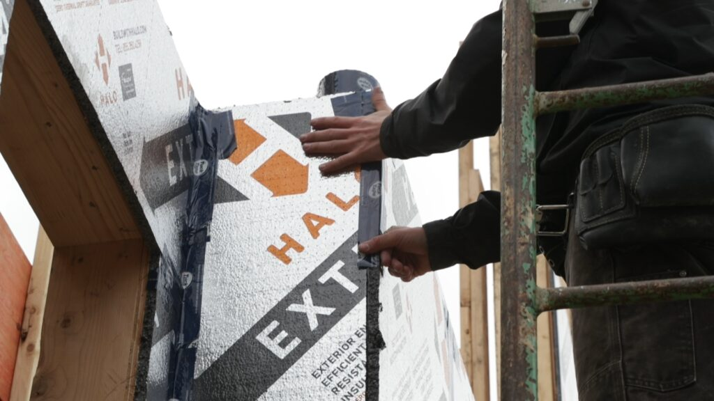 Taping Halo Exterra In Corners