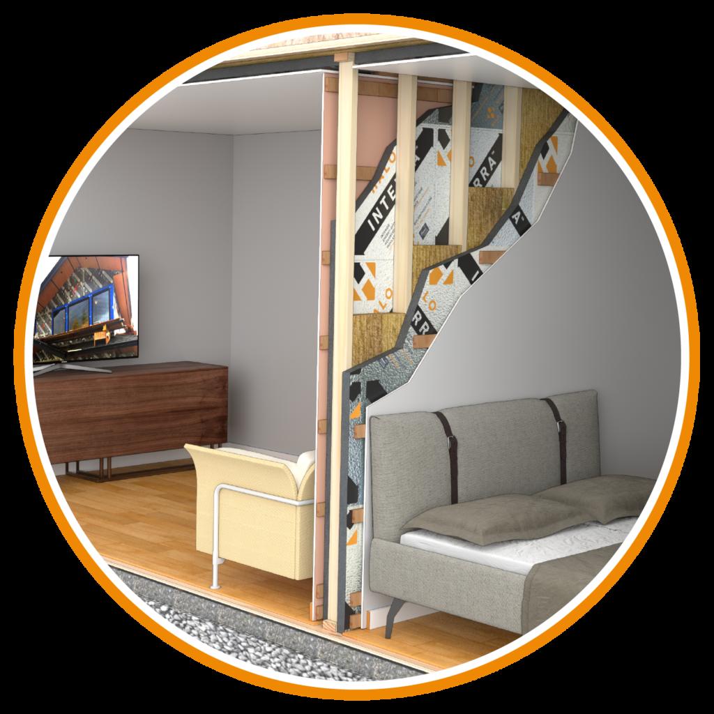 Halo Interra Basement Interior Wall Application