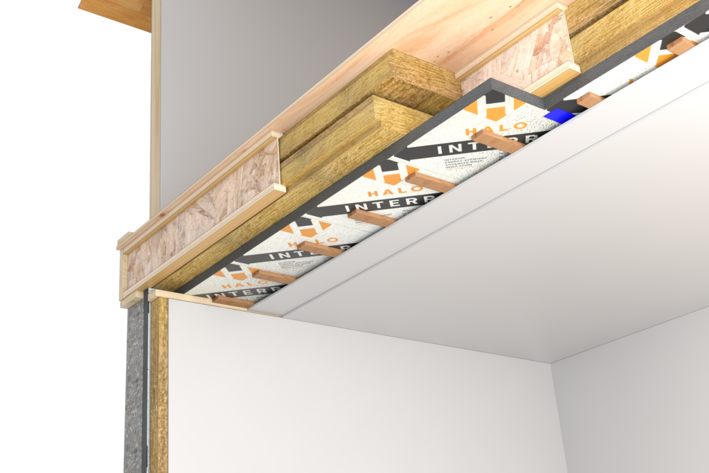Basement Ceiling Insulation Detail For Soundproofing